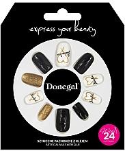 Kup Zestaw sztucznych paznokci z klejem, 3056 - Donegal Express Your Beauty