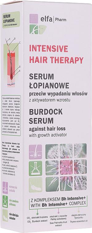 Serum łopianowe przeciw wypadaniu włosów - Elfa Pharm Burdock Serum