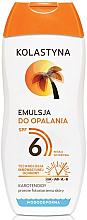 Kup Wodoodporna emulsja do opalania SPF 6 - Kolastyna