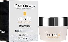 Kup Przeciwstarzeniowy krem na dzień do twarzy 40–60+ - Dermedic Oilage