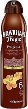 Kup Suchy olejek do opalania z olejem arganowym - Hawaiian Tropic Protective Dry Oil Continuous Spray Aragan Oil SPF 6