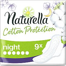 Kup Podpaski ze skrzydełkami na noc, 9 szt. - Naturella Cotton Protection Ultra Night