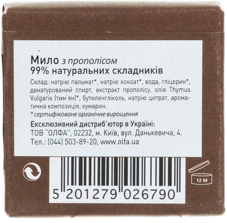 Naturalne mydło w kostce Propolis - Apivita Natural Soap with Propolis — фото N4