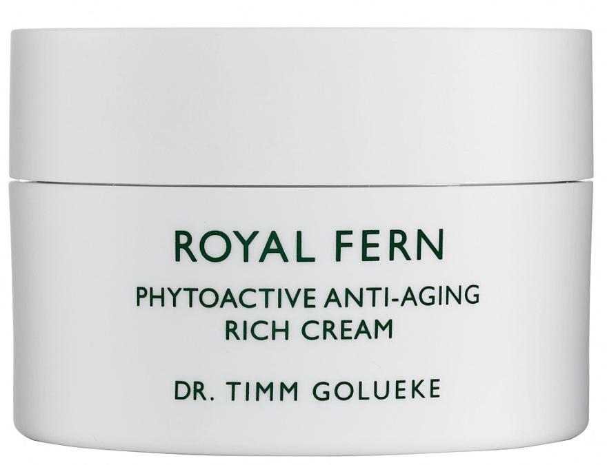 Fitoaktywny krem przeciwzmarszczkowy do twarzy - Royal Fern Phytoactive Anti-Aging Cream — фото N1