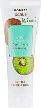Kup Delikatny peeling oczyszczający Kiwi - Korres Kiwi Gentle Exfoliating Scrub