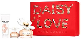 Kup Marc Jacobs Daisy Love - Zestaw (edt 100 ml + edt 4 ml + b/lot 75 ml)
