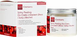 Kup Peeling solny do ciała z masłem shea i solą z Bochni - GoCranberry