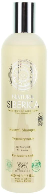 Neutralny szampon do wrażliwej skóry głowy - Natura Siberica