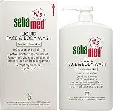 Żel do twarzy i ciała z dozownikiem - Sebamed Liquid Face and Body Wash — фото N4