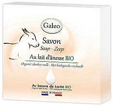 Kup Mydło w kostce z oślim mlekiem - Galeo Soap Organic Donkey Milk