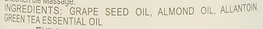 Olejek do masażu Zielona herbata - Sezmar Collection Professional Massage Oil Green Tea — фото N2