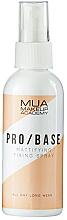 Kup Matujący spray utrwalający do makijażu - MUA Pro Base Mattifying Fixing Spray
