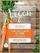 Kup Wegańska maska w płachcie z ekstraktem z marchwi - Lomi Lomi Vegan Mask