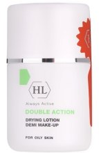 Kup Podsuszający lotion tonujący - Holy Land Cosmetics Double Action Drying Lotion Demi Make-Up