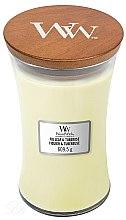 Kup Świeca zapachowa w szkle - WoodWick Hourglass Candle Fig Leaf And Tuberose