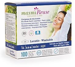 Kup Wielorazowe podpaski na noc z bawełny organicznej - Masmi
