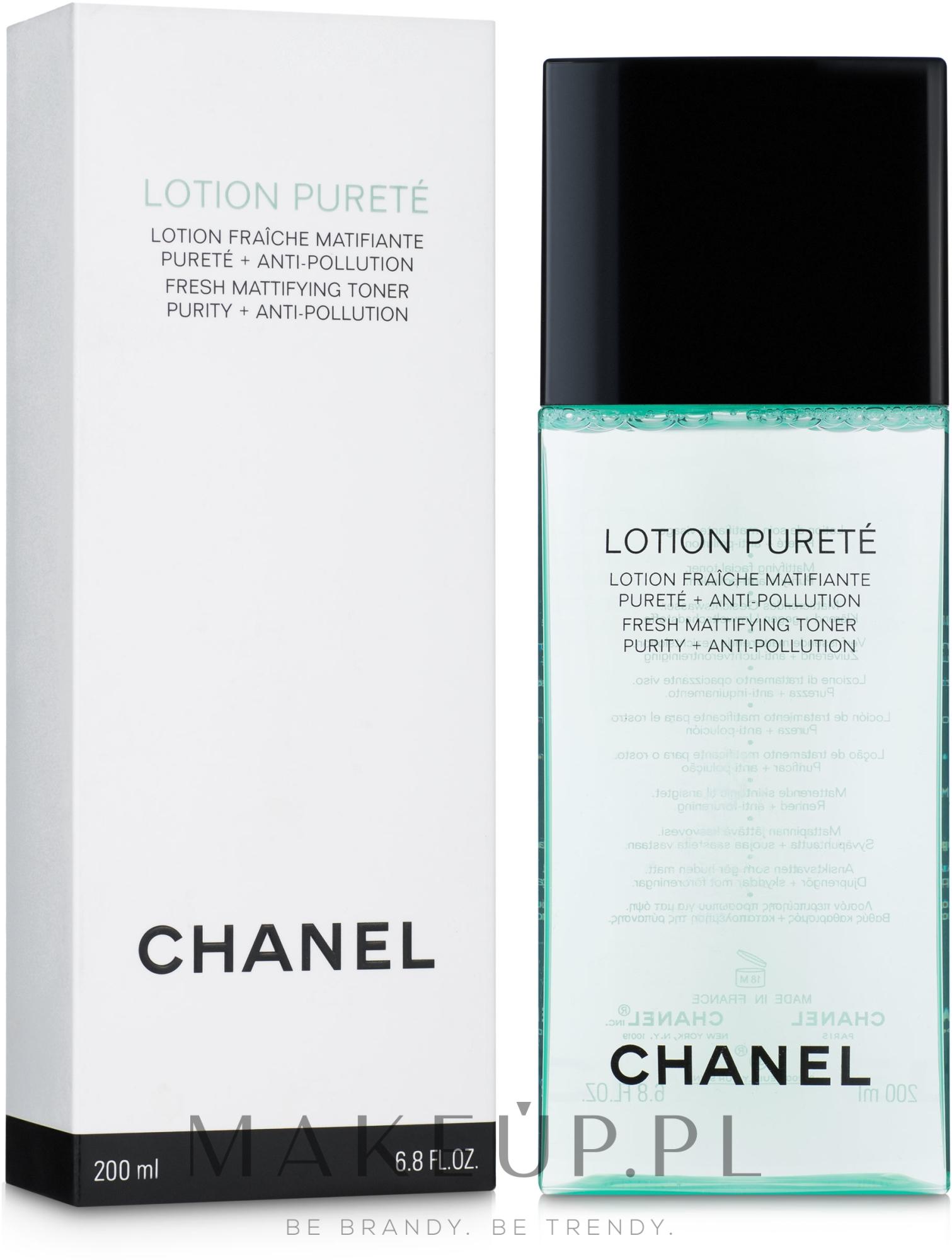 Tonik oczyszczająco-matujący - Chanel Precision Lotion Pureté — фото 200 ml