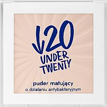 Kup Matujący puder o działaniu antybakteryjnym - Under Twenty