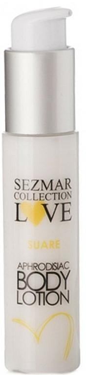 Naturalne afrodyzjakowe mleczko do ciała - Sezmar Collection Love Suare Aphrodisiac Body Lotion — фото N1
