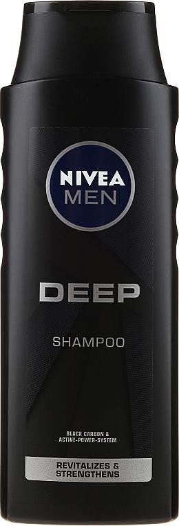 Rewitalizujący szampon dla mężczyzn oczyszczający włosy i skórę głowy - Nivea Men Deep Revitalizing Shampoo