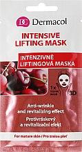 Liftingująca maseczka do twarzy na tkaninie - Dermacol 3D Inzensive Lifting Mask — фото N1