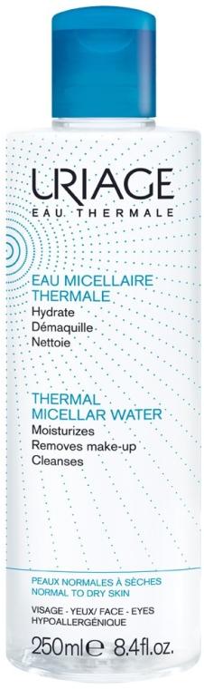 Płyn micelarny do demakijażu skóry suchej i normalnej - Uriage Thermal Micellar Water