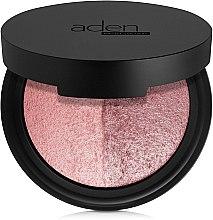 Kup Wypiekany róż dwukolorowy do policzków - Aden Cosmetics Terracotta Baked Blusher Duo