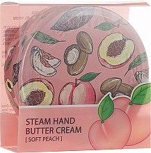 Kup Odżywczy krem parowy do rąk Brzoskwinia - SeaNtree Steam Hand Butter Cream Soft Peach 1