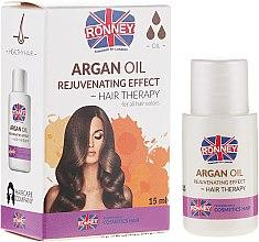 Kup Odmładzający olejek do włosów - Ronney Professional Argan Oil Rejuvenating Hair Therapy
