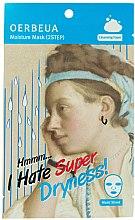 Kup 2-etapowa maska nawilżająca do twarzy - Oerbeua I Hate Super Dryness Mask Sheet
