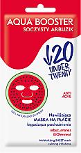 Kup Nawilżająca maska na płacie łagodząca podrażnienia - Under Twenty Anti Acne Aqua Booster Juicy Watermelon Face Mask