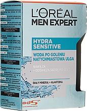 Kup Woda po goleniu do skóry wrażliwej Odbudowa + łagodzenie - L'Oreal Paris Men Expert New Hydra Sensitive