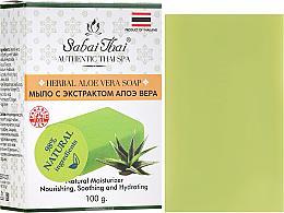Kup PRZECENA! Mydło w kostce z ekstraktem z aloesu - Sabai Thai Herbal Aloe Vera Soap *