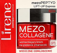 Kup Wzmacniający krem na głębokie zmarszczki - Lirene Mezo Collagene SPF 15