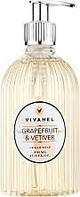 Kup Kremowe mydło w płynie Grejpfrut i wetyweria - Vivian Gray Vivanel Grapefruit & Vetiver