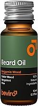 Kup Olejek do brody o drzewnym zapachu - Beviro Beard Oil Bergamia Wood