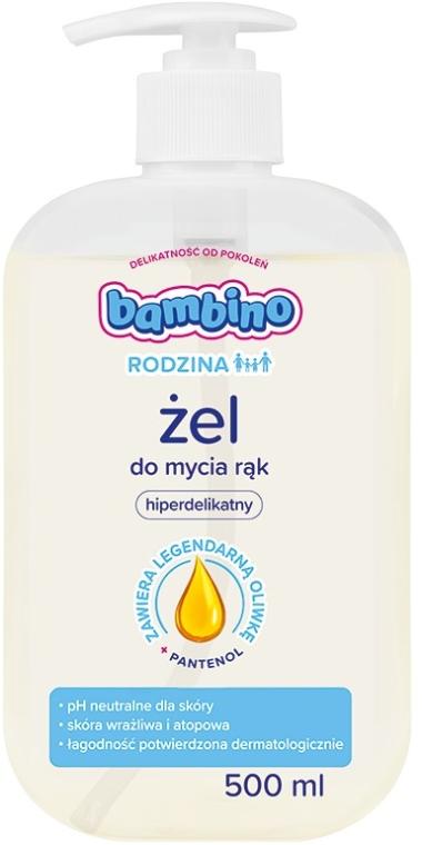 Hipoalergiczny żel do mycia rąk - Bambino Rodzina