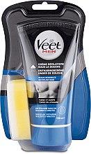 Kup Krem dla mężczyzn do depilacji torsu i ciała pod prysznicem do skóry wrażliwej - Veet Men Silk & Fresh Hair Removal Cream