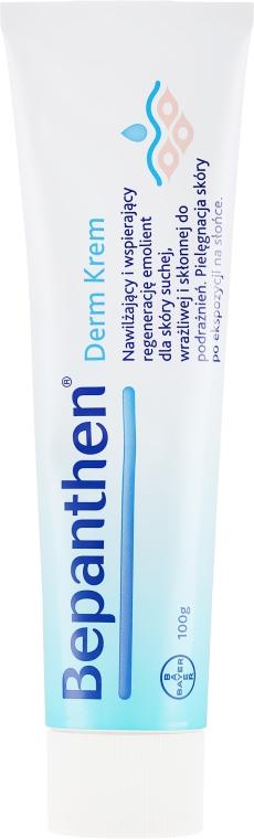 Nawilżający krem wspierający regenerację skóry suchej i podrażnionej - Bepanthen Derm Soothing Cream — фото N5
