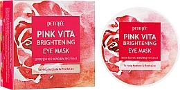 Kup Rozświetlające płatki pod oczy - Petitfee & Koelf Pink Vita Brightening Eye Mask