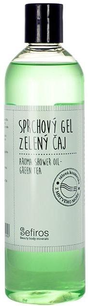 Pachnący olejek pod prysznic Zielona herbata - Sefiros Aroma Shower Oil Green Tea — фото N1
