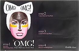 Kup Czteroetapowy program pielęgnacyjny do twarzy - Double Dare OMG! 4in1 Kit Zone System Mask