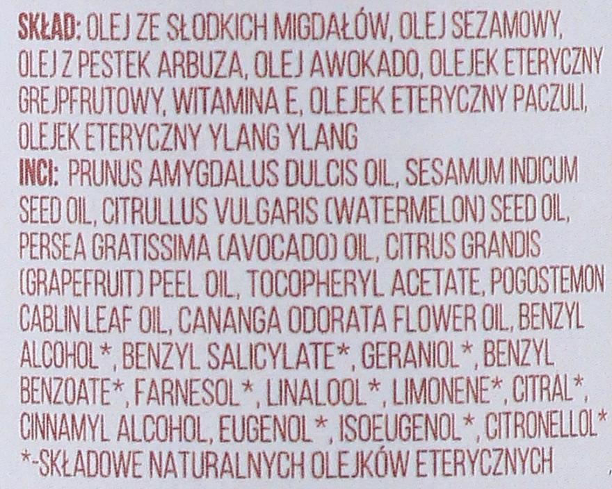 Olejek do masażu z olejem z awokado i dyni - Cztery Szpaki — фото N2
