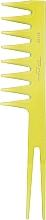 Kup Grzebień do włosów 60182, żółty - Top Choice