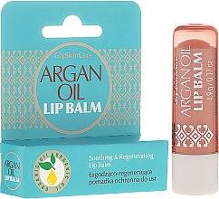 Kup Łagodząco-regenerująca pomadka ochronna do ust - GlySkinCare Argan Oil Lip Balm