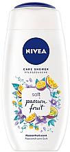 Kup Kremowy żel pod prysznic - Nivea Soft Passion Fruit Care Shower