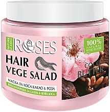 Kup Rewitalizująca maska do włosów Woda różana i masło kakaowe - Nature of Agiva Roses And Cocoa Butter Hair Mask