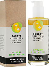 Kup Organiczny olejek do masażu Cytryna - Sonett Citrus Massage Oil
