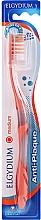 Kup Szczoteczka do zębów, średnia twardość, pomarańczowa - Elgydium Anti-Plaque Medium Toothbrush
