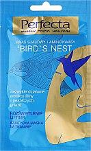 Kup Azjatycka maska na tkaninie do twarzy Rozświetlenie i lifting - Perfecta Bird's Nest